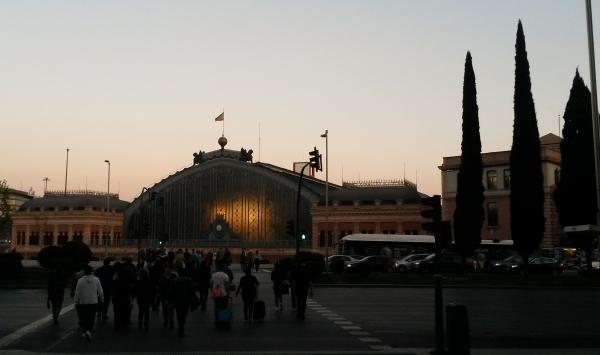 Atocha at night